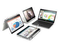HP ProBook x360 440 G1 Intel Core i5-8250U 35,5cm 14,0Zoll IPS FHD Touch UMA 1x16GB 256GB/SSD WLAN BT FPR W10PRO64 3J. Gar. (DE)