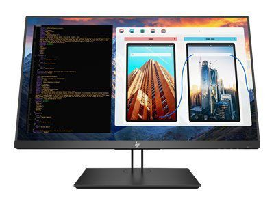 HP Z27 68,5cm 27Zoll Monitor 4K IPS LED Backlight 8ms 350cd/m2  16:9 3840x2160 DP MiniDP HDMI Pivot Hoehenv. 3 Jahre Garantie