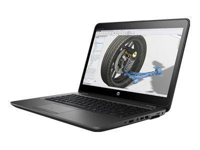 HP ZBook 14u G5 35,5cm 14Zoll FHD AG DSC Intel i5-7200U 2C 2.5GHz 1x8GB 256GB/Turbo/SSD WLAN BT FPR W10PRO64 3J Gar. (DE)