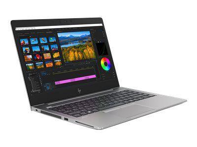 HP ZBook 14u G5 35,5cm 14Zoll FHD AG DSC Intel i7-8550U 1x8GB 256GB/Turbo/SSD WLAN BT FPR W10PRO64 3J Gar. (DE)