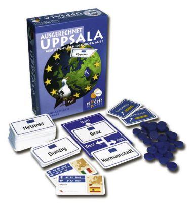 Huch Ausgerechnet Uppsala, Kartenspiel