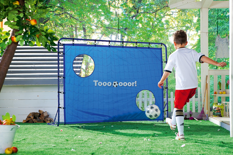 Hudora Fussballtor Kick It Mit Torwand Bestellen Weltbild De