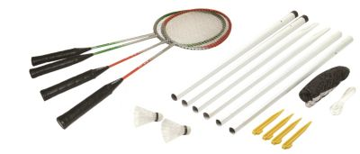 Hudora Team RQ-44, Badminton-Set