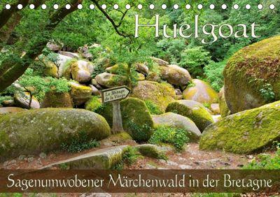 Huelgoat - Sagenumwobener Märchenwald in der Bretagne (Tischkalender 2019 DIN A5 quer), LianeM