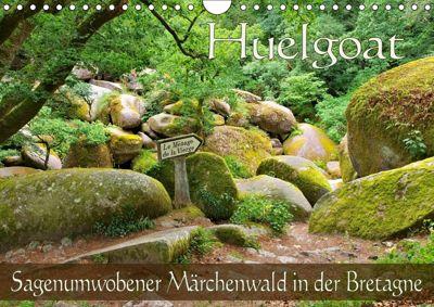 Huelgoat - Sagenumwobener Märchenwald in der Bretagne (Wandkalender 2019 DIN A4 quer), LianeM