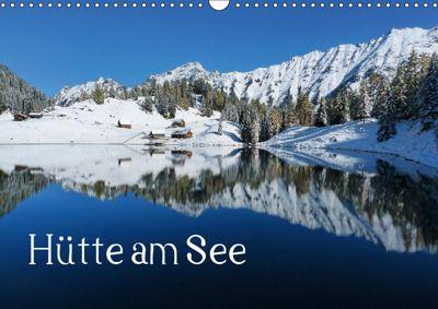 Hütte am See (Wandkalender 2019 DIN A3 quer), Christa Kramer