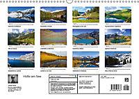 Hütte am See (Wandkalender 2019 DIN A3 quer) - Produktdetailbild 13