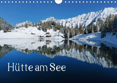 Hütte am See (Wandkalender 2019 DIN A4 quer), Christa Kramer