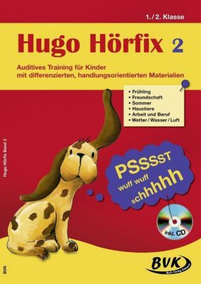 Hugo Hörfix, m. Audio-CD