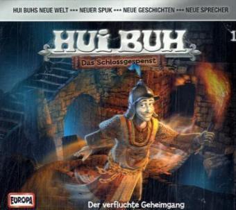Hui Buh, das Schlossgespenst, neue Welt, Audio-CDsFolge.1 Der verfluchte Geheimgang, 1 Audio-CD, HUI BUH neue Welt