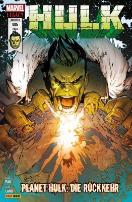 Hulk: Hulk 5 - Planet Hulk: Die Rückkehr, Greg Pak