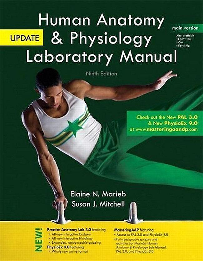 Human Anatomy Physiology Laboratory Manual With Masteringap Main