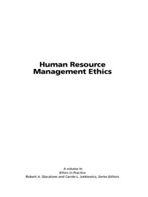 ethics and human resources essay