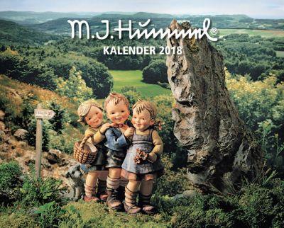 Hummel Kal. 2018 + 2 Blechschilder