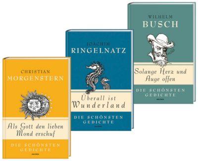 Humor Set Ringelnatz, Morgenstern, Busch, Joachim Ringelnatz, Christan Morgenstern, Wilhelm Busch