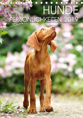 Hundepersönlichkeiten (Tischkalender 2019 DIN A5 hoch), dogARTig