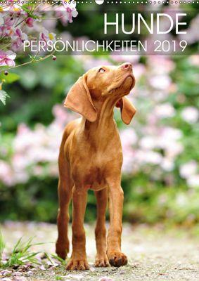 Hundepersönlichkeiten (Wandkalender 2019 DIN A2 hoch), dogARTig