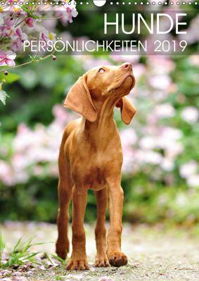 Hundepersönlichkeiten (Wandkalender 2019 DIN A3 hoch), dogARTig