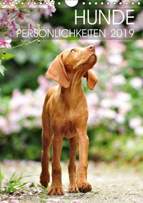 Hundepersönlichkeiten (Wandkalender 2019 DIN A4 hoch), dogARTig