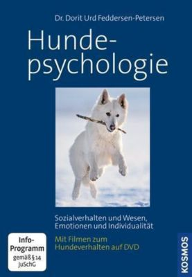 Hundepsychologie, m. DVD - Dorit U. Feddersen-Petersen  