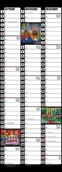 Hundertwasser Streifenkalender Art 2019 - Produktdetailbild 4