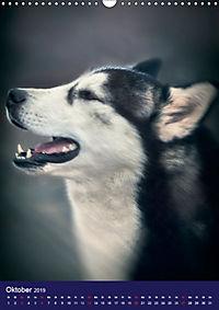 Huskies - Artwork (Wandkalender 2019 DIN A3 hoch) - Produktdetailbild 10