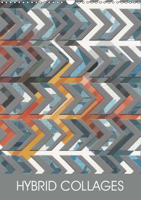 HYBRID COLLAGES (Wall Calendar 2019 DIN A3 Portrait), LEIGH BAGLEY DESIGN