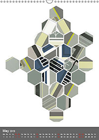 HYBRID COLLAGES (Wall Calendar 2019 DIN A3 Portrait) - Produktdetailbild 5