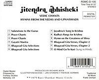 Hymns For Vedas/Indische Vokalmusik - Produktdetailbild 1