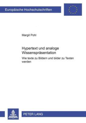 Hypertext und analoge Wissensrepräsentation, Margit Pohl