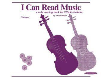 I Can Read Music, Viola, Joanne Martin