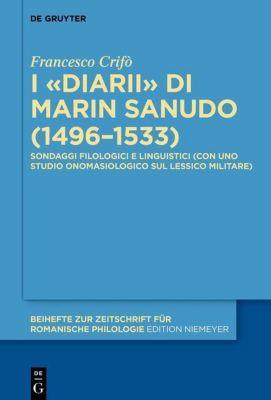 I «Diarii» di Marin Sanudo (1496-1533), Francesco Crifò