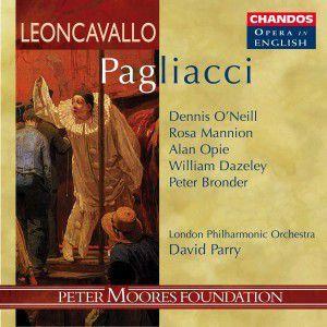 I Pagliacci (ga), Geoffrey Mitchell Choir, Lpo
