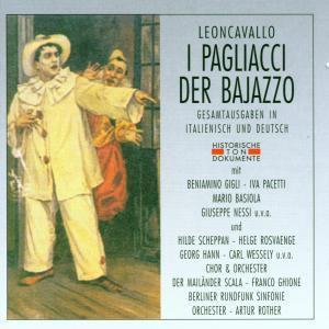 I Pagliacci (Ga,Ital.+Deutsch), Arthur Rother, Rsb