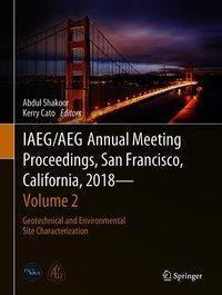 IAEG/AEG Annual Meeting Proceedings, San Francisco, California, 2018 - Volume 2