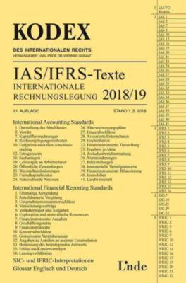IAS/IFRS-Texte Internationale Rechnungslegung 2018/19, Alfred Wagenhofer