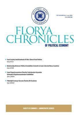 IAU Press: Florya Chronicles of Political Economy