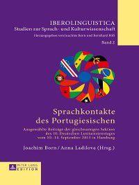 Iberolinguistica: Sprachkontakte des Portugiesischen