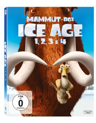 Ice Age 1 - 4 Box, Michael J. Wilson, Peter Ackerman, Jon Vitti, Yoni Brenner, Michael Berg, Jason Fuchs, Mike Reiss