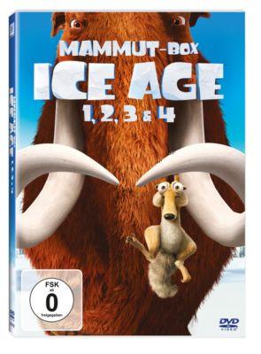 Ice Age 1 - 4 Box, Michael J. Wilson, Peter Ackerman, Jon Vitti, Yoni Brenner, Michael Berg, Jason Fuchs, Mike Reiss