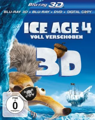 Ice Age 4: Voll verschoben - 3D-Version, Michael Berg, Jason Fuchs, Mike Reiss