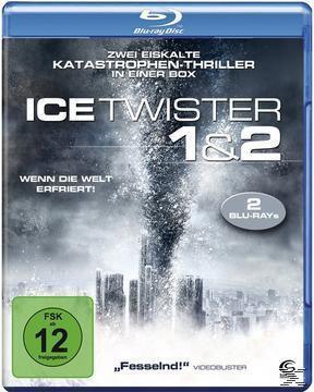 Ice Twister 1 & 2 - Wenn die Welt erfriert! - 2 Disc Bluray