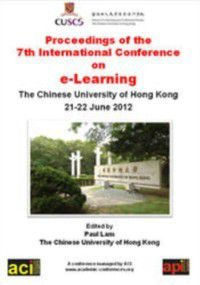 ICEL: Proceedings of the 6th International Conference on eLearning