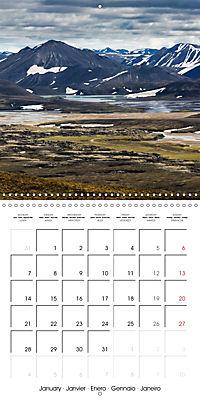 Iceland - nordic island (Wall Calendar 2019 300 × 300 mm Square) - Produktdetailbild 1