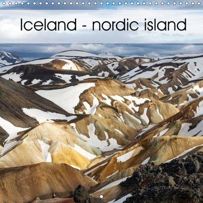 Iceland - nordic island (Wall Calendar 2019 300 × 300 mm Square), Herbert Redtenbacher