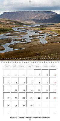 Iceland - nordic island (Wall Calendar 2019 300 × 300 mm Square) - Produktdetailbild 2