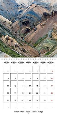 Iceland - nordic island (Wall Calendar 2019 300 × 300 mm Square) - Produktdetailbild 3