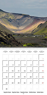 Iceland - nordic island (Wall Calendar 2019 300 × 300 mm Square) - Produktdetailbild 9