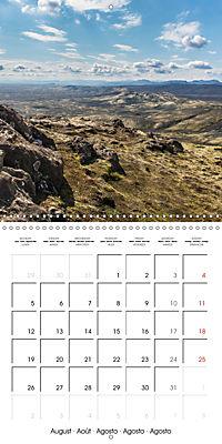 Iceland - nordic island (Wall Calendar 2019 300 × 300 mm Square) - Produktdetailbild 8
