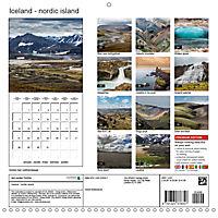 Iceland - nordic island (Wall Calendar 2019 300 × 300 mm Square) - Produktdetailbild 13